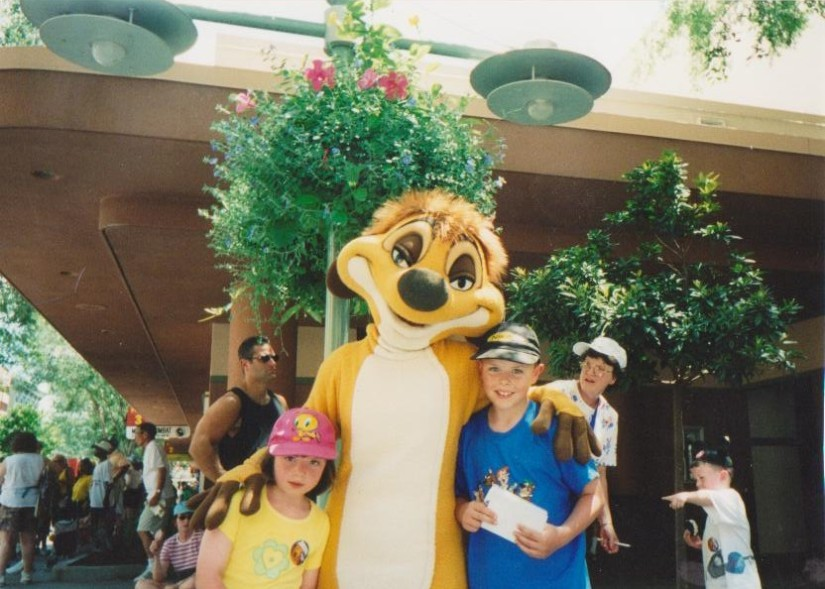 with timon